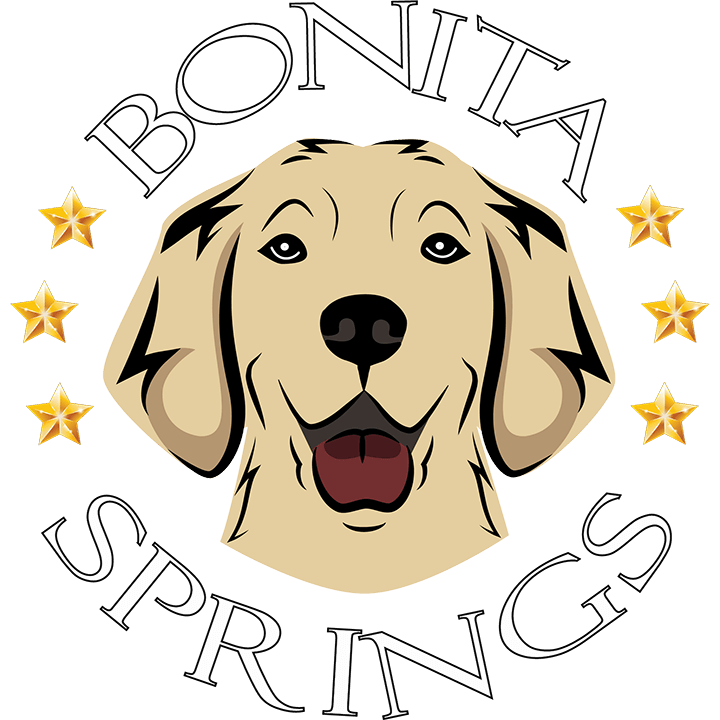 Bonita Springs Golden Retriever Kennel Logo